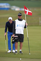 It's Denmark day and Cliff has the line of putt for Maximilian Kieffer (GER) during Round Two of the 2015 Nordea Masters at the PGA Sweden National, Bara, Malmo, Sweden. 05/06/2015. Picture David Lloyd | www.golffile.ie