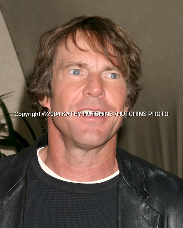 ©2004 KATHY HUTCHINS /HUTCHINS PHOTO.INDEPENDENT SPIRIT AWARDS NOMINATIONS.LE MEREDIEN HOTEL.LOS ANGELES, CA.NOVEMBER 30 , 2004..DENNIS QUAID.