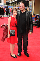 """Mike Disa arrives for the """"Postman Pat"""" premiere at the Odeon West End, Leicester Square, London. 11/05/2014 Picture by: Steve Vas / Featureflash"""