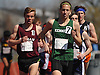 Jack Ostrofsky of Bellmore JFK, front, competes in the boys 3,200 meter run during the Cougar Invitational held at Bellmore JFK High School on Saturday, Apr. 16, 2016.