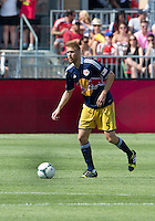 July 20, 2013: New York Red Bulls defender Markus Holgersson #5 in action during a game between Toronto FC and the New York Red Bulls at BMO Field in Toronto, Ontario Canada.<br /> The game ended in a 0-0 draw.