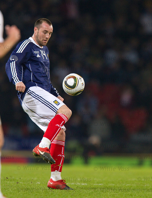 Kris Boyd on the ball