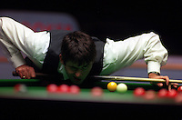 Pix:Michael Steele/SWpix...Snooker. Ronnie O'Sullivan, Preston Guild Hall, 1996...COPYRIGHT PICTURE>>SIMON WILKINSON..Ronnie O'Sullivan, Preston Guild Hall.