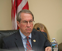 Washington DC, July 12 2016, USA--House Judiciary Chairman, Bob Goodlatte listens to Attorney General Loretta Lynch testify in front of the House Judiciary Committee on the recent violence spreading throughout the US and the FBI probe in to former Secretary of State Hilary Clinton's emails.  Patsy Lynch/MediaPunch