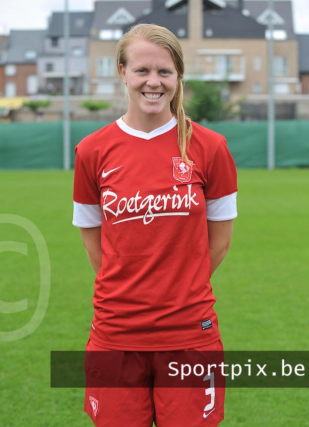 FC Twente Dames : Courtney Kathryn Goodson.foto DAVID CATRY / Vrouwenteam.be