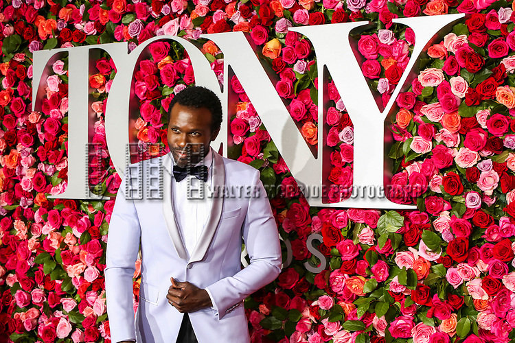 NEW YORK, NY - JUNE 10:  Joshua Henry attends the 72nd Annual Tony Awards at Radio City Music Hall on June 10, 2018 in New York City.  (Photo by Walter McBride/WireImage)