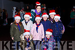 Lily Ladybirds at the Christmas in Killarney parade on Saturday evening l-r: Jenny Hegarty, Millie Counihan, Laura Hickey, Ava Huggett, Jessie Keane, Ava Brosnan and Amy O'Connor with leaders Kiann Huggett and Bronagh O'Keeffe