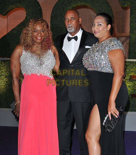 Oracene Price &amp; guests at the Wimbledon Champions Dinner, The Guildhall, Gresham Street, London, England, UK, on Sunday 10 July 2016.<br /> CAP/CAN<br /> &copy;CAN/Capital Pictures