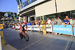 Ilnur Zakarin (RUA) Team Katusha-Alpecin during Stage 1 of the La Vuelta 2018, an individual time trial of 8km running around Malaga city centre, Spain. 25th August 2018.<br /> Picture: Ann Clarke | Cyclefile<br /> <br /> <br /> All photos usage must carry mandatory copyright credit (© Cyclefile | Ann Clarke)