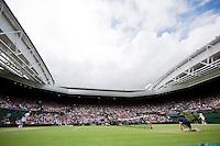04-07-12, England, London, Tennis , Wimbledon,  Centercourt