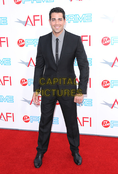 JESSE METCALFE.The 37th AFI Life Achievement Award held at Sony Picture Studios in Culver City, California, USA..July 11th, 2009.full length black suit .CAP/DVS.©Debbie VanStory/Capital Pictures.