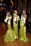 Jana Fant, Laura Spalding and Debra Grierson at the Socitey for the Performing Arts Gala at Jones Hall Saturday  March 29,2008.(Dave Rossman/For the Chronicle)
