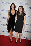 BEVERLY HILLS, CA- OCTOBER 23: Actress Teri Hatcher (L) and International Corps President & CEO Nancy Aossey arrive at the International Medical Corps' Annual Awards dinner ceremony at the Beverly Wilshire Four Seasons Hotel on October 23, 2014 in Beverly Hills, California.