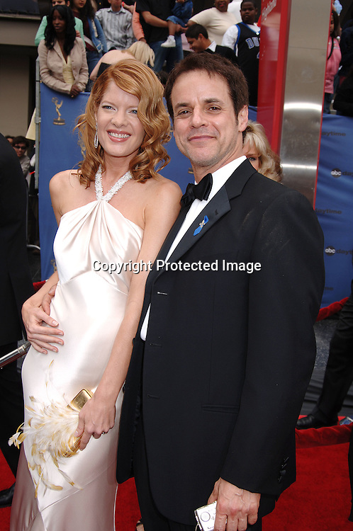 Michelle Stafford and Christian LeBlanc..arriving at The 33rd Annual Daytime Emmy Awards..on April 28, 2006 at The Kodak Theatre...Robin Platzer, Twin Images