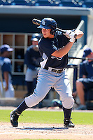 Tampa Bay Rays minor league outfielder Josh Sale during an Instructional League game vs. the Minnesota Twins at Charlotte Sports Park in Port Charlotte, Florida;  October 5, 2010.  Photo By Mike Janes/Four Seam Images