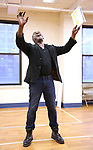 """Norm Lewis during a Performance Sneak Peek of The MCP Production of """"The Scarlet Pimpernel"""" at Pearl Rehearsal studio Theatre on February 14, 2019 in New York City."""