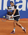 20.04.2016 Barcelona Open Banc Sabadell, atp 500. Picture show Feliciano Lopez in action at central court from Reial Club de Tennis de Barcelona