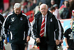 Aberdeen v St Johnstone... 23.07.11   SPL Week 1.Craig Brown and Archie Knox.Picture by Graeme Hart..Copyright Perthshire Picture Agency.Tel: 01738 623350  Mobile: 07990 594431