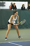 Alexis Franco of the Wake Forest Demon Deacons during the match against the Liberty Flames at the Wake Forest Indoor Tennis Center on March 11, 2017 in Winston-Salem, North Carolina. The Demon Deacons defeated the Flames 7-0.  (Brian Westerholt/Sports On Film)