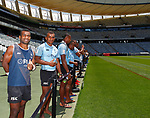 Fiji Team photo, HSBC World Rugby Sevens Series 2017/2018, Cape Town 7s 2017- Photo Martin Seras Lima