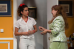 """Diana Irazaba and Estrella Blanco at """"Usted puede ser un asesino"""" Theater play in Muñoz Seca Theater, Madrid, Spain, September 07, 2015. <br /> (ALTERPHOTOS/BorjaB.Hojas)"""