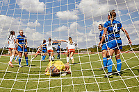 SAN ANTONIO, TX - SEPTEMBER 22, 2019: The Middle Tennessee State University Blue Raiders defeat the University of Texas at San Antonio Roadrunners 4-3 in overtime at the Park West Athletics Complex. (Photo by Jeff Huehn)