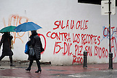 Sal A La Calle Contra Los Recortes.  Take To The Street Against the Cuts.  Graffiti in Granada, Anadalucia. The province has the highest unemployment rate in Spain.