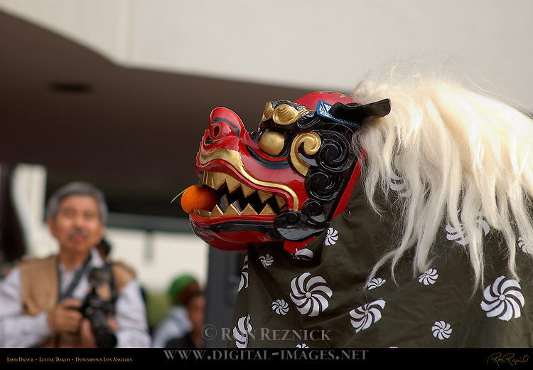 Lion Dance, Little Tokyo, Downtown Los Angeles, California