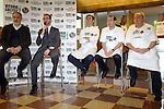Vitoria Gasteiz-Capital de la Gastronomia 2014.<br /> Presentacion en Barcelona-Mercat de la Boqueria.<br /> Andoni Zubizarreta, Javier Maroto, Senen Gonzalez, Mikel Zuazo &amp; Enrique Fuentes.