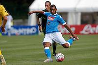 Faouzi Ghoulan  durante l amichevole Napoli  Anaune a Dimaro 21 Luglio 2015<br /> <br /> Preseason summer training of Italy soccer team  SSC Napoli  in Dimaro Italy July 11, 2015