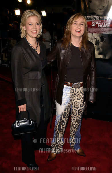 Singer MELISSA ETHERIDGE (right) & girlfriend TAMMY LYNN MICHAELS at the world premiere, in Los Angeles, of Spy Game..19NOV2001. © Paul Smith/Featureflash