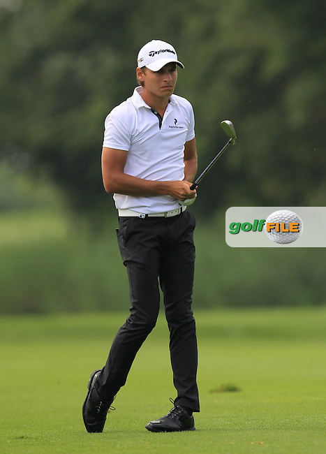 Joakim Lagergren (SWE) on the 2nd fairway during the Round 2 of the 2016 BMW International Open at the Golf Club Gut Laerchenhof in Pulheim, Germany on Friday 24/06/16.<br /> Picture: Golffile | Thos Caffrey