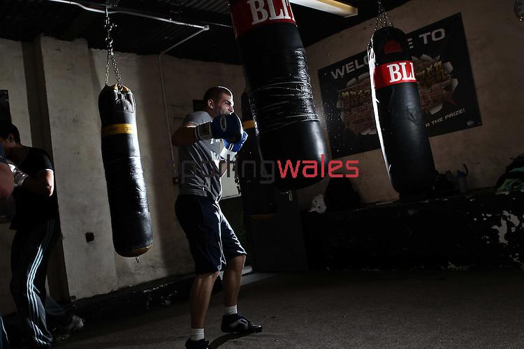 Welsh Boxer Kevin Evans..22.09.11.©Steve Pope