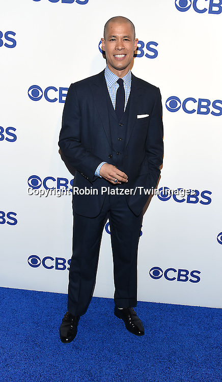 Vladimir Duthiers of CBS News attends the CBS Upfront 2016-2017 on May 18, 2016 at the Oak Room at the Plaza Hotel in New Yorik, New York, USA.<br /> <br /> photo by Robin Platzer/Twin Images<br />  <br /> phone number 212-935-0770
