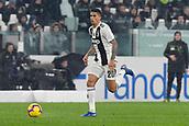 2nd February 2019, Allianz Stadium, Turin, Italy; Serie A football, Juventus versus Parma; Joao Cancelo of Juventus on the ball