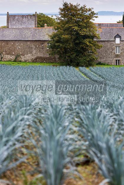 France, Ille-et-Vilaine (35), Côte d'Emeraude, Env de Cancale, Saint-Méloir-des-Ondes : Malouinière: Le Vaulérault// France, Ille et Vilaine,cote d'emeraude (Emerald Coast), surroundings Cancale, Saint-Méloir-des-Ondes Malouinière: The Vaulérault