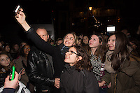 Louane meets with her fans following her concert in Brussels - EXCLU - Belgium