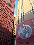 Chicago, Illinois, United States of America / USA; December 27, 2016 -- South Loop: mural, public-street art along Wabash Avenue and South State Street -- Photo: © HorstWagner.eu