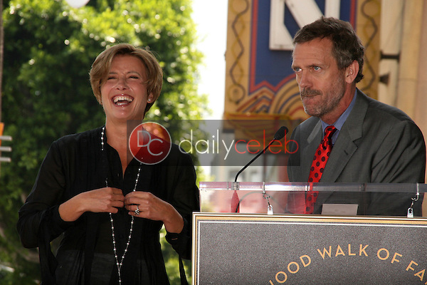 Emma Thompson, Hugh Laurie<br />