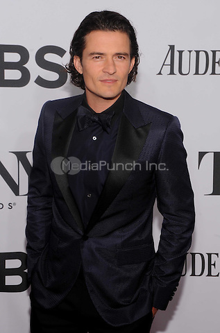 New York, NY- June 8: Orlando Bloom attend the American Theater Wing's 68th Annual Tony Awards on June 8, 2014 at Radio City Music Hall in New York City. (C)  Credit: John Palmer/MediaPunch