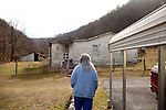 All of the homes in Lindytown, West Virginia were bought and bulldozed by Massey Energy-all the homes but three, all owned by one family, the Richmonds. Quinnie and her son Roger still live in the now vacant town. Quinnie's home is in the valley between two mountains that have undergone mountain top removal and the dust covers everything, she said...The community is gone. The beautiful environment is suffering. Roger's father made the decision for the family to stay while all the other families packed up and sold their property to the coal company. Roger wonders if that decision was the right one.