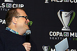 21 November 2009: Seattle Sounders FC owner Drew Carey. The MLS Supporters Summit was held in a club room at Qwest Field in Seattle, Washington one day before Major League Soccer's championship game, MLS Cup 2009, the following day.