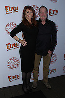 HOLLYWOOD, CA - OCTOBER 18: Fred Schneider, Cassandra Peterson attends the launch party for Cassandra Peterson's new book 'Elvira, Mistress Of The Dark' at the Hollywood Roosevelt Hotel on October 18, 2016 in Hollywood, California. (Credit: Parisa Afsahi/MediaPunch).