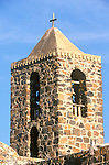 Mexico, Baja California Sur, Mulege, Mission Santa Rosalia de Mulege, Bell Tower