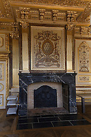 Troisième Chambre Civile, architecte Charles LANGLOIS 1854, plafond sculpte Jean-Baptiste BARRE, peintre Felix-Armand JOBBE-DUVAL 1867