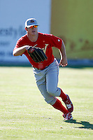 June 22, 2009:  Outfielder Carl Uhl of the Williamsport Crosscutters during a game at Dwyer Stadium in Batavia, NY.  The Crosscutters are the NY-Penn League Short-Season Single-A affiliate of the Philadelphia Phillies.  Photo by:  Mike Janes/Four Seam Images