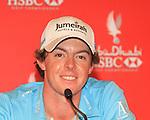Abu Dhabi HSBC Golf Championship 2011 Day 3 McIlroy