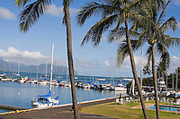 Kaneohe Yacht Club, windward Oahu, Hawaii