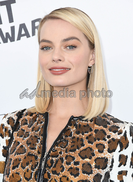 03 March 2018 - Santa Monica, California - Margot Robbie. 2018 Film Independent Spirit Awards -Arrivals, held at the Santa Monica Pier. Photo Credit: Birdie Thompson/AdMedia