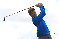 Ben Bracken (Portmarnock) on the 10th tee during the Final round in the Connacht U16 Boys Open 2018 at the Gort Golf Club, Gort, Galway, Ireland on Wednesday 8th August 2018.<br /> Picture: Thos Caffrey / Golffile